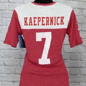 Nike NFL Colin Kaepernick #7 San Francisco 49er's
